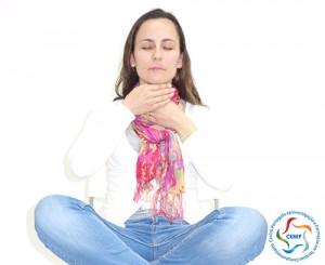 Tratamento do chakra laringeo