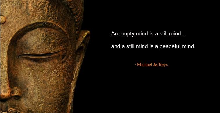 Um truque para esvaziar a mente com meditação guiada