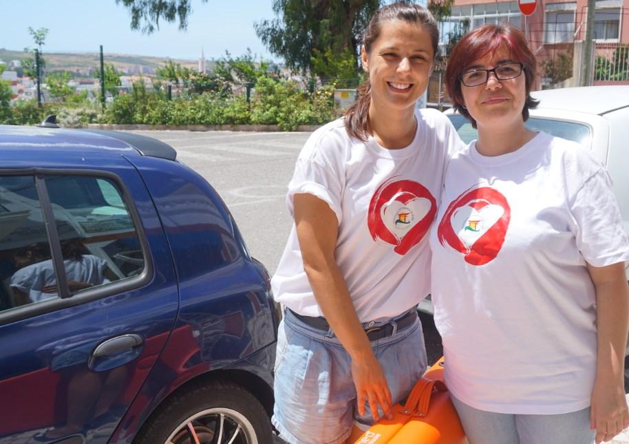 Patricia e Sandra são alunas e praticantes de Reiki no CENIF