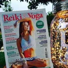Artigos na Revista Reiki & Yoga de Junho 2017