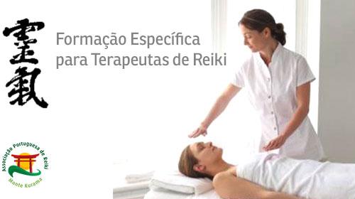 Formação especifica para terapeutas de reiki