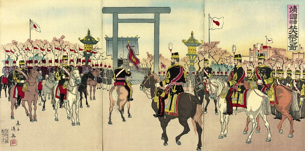O Imperador Meiji e a religião no Japão