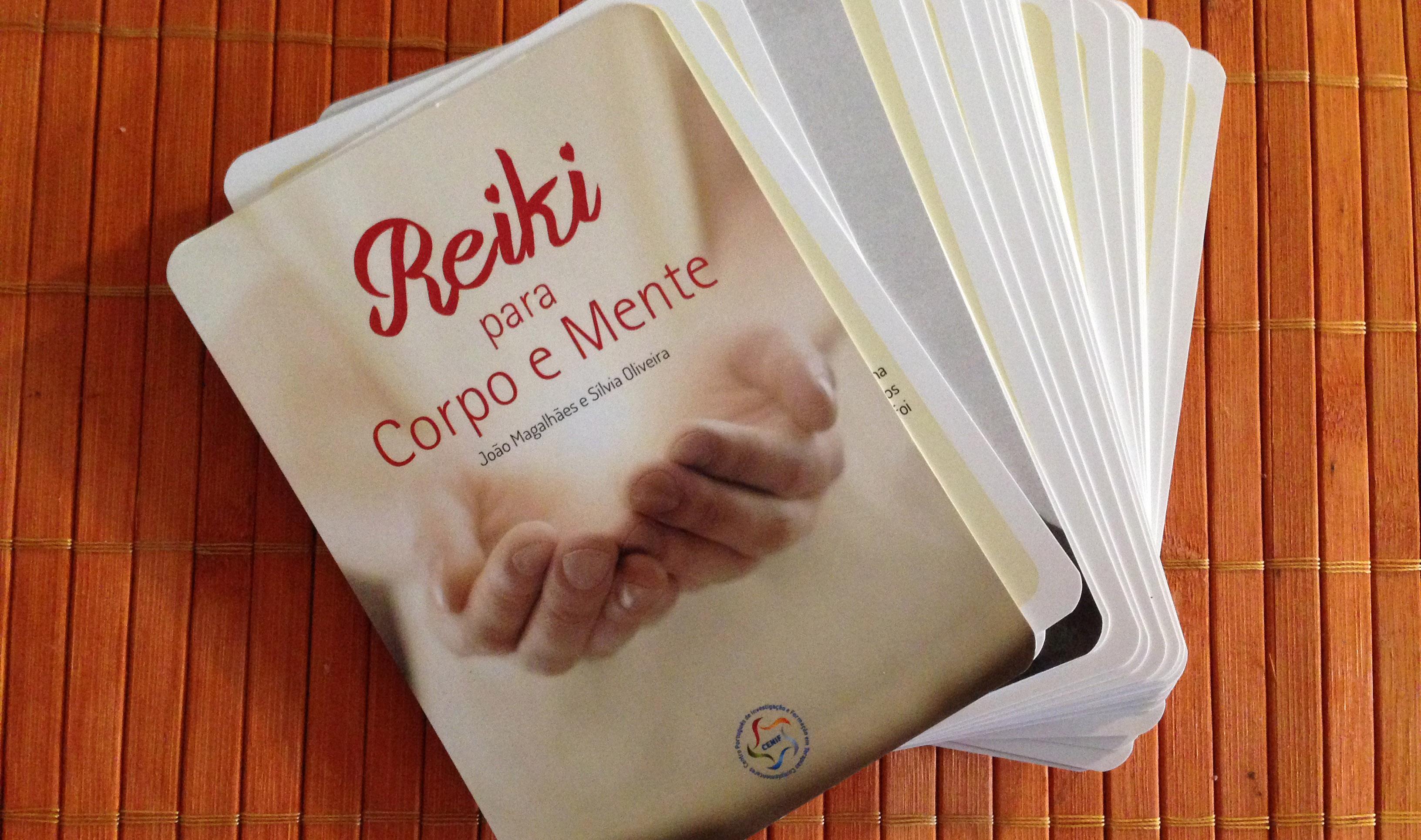 Reiki para o Corpo e Mente – cartas técnicas por João Magalhães e Sílvia Oliveira