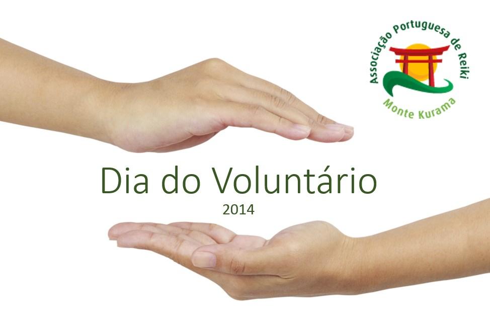 Dia do voluntário, obrigado a todos por darem de coração