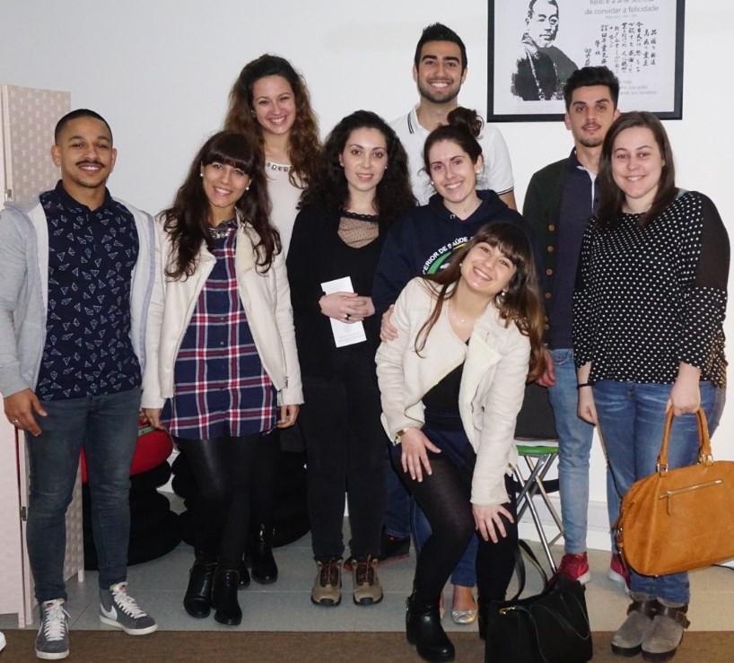 Grupo de Alunos da Escola Superior de Saúde Ribeiro Sanches
