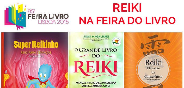Reiki na Feira do Livro de Lisboa com João Magalhães e Sílvia Oliveira