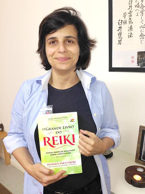 Lurdes Segurado - Mestre e Terapeuta de Reiki na Associação Essência do Ser.
