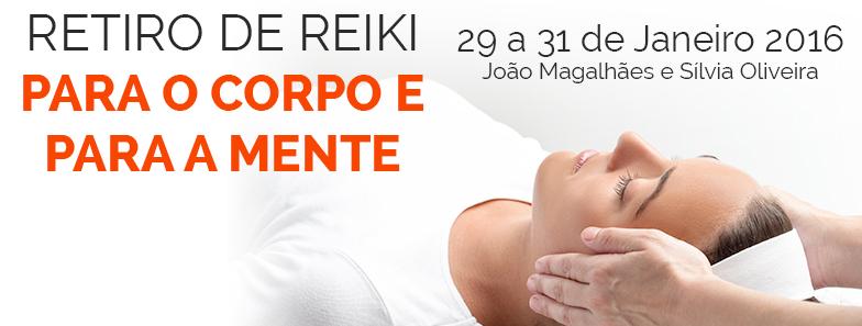 Retiro de Reiki para o Corpo e para a Mente