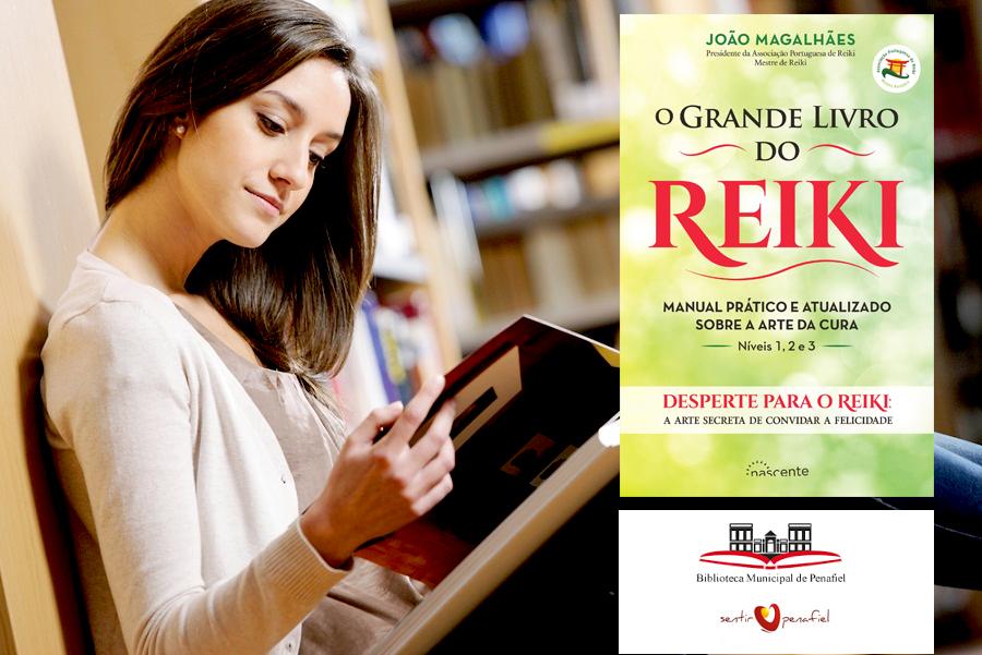 O Grande Livro do Reiki na Biblioteca Municipal de Penafiel