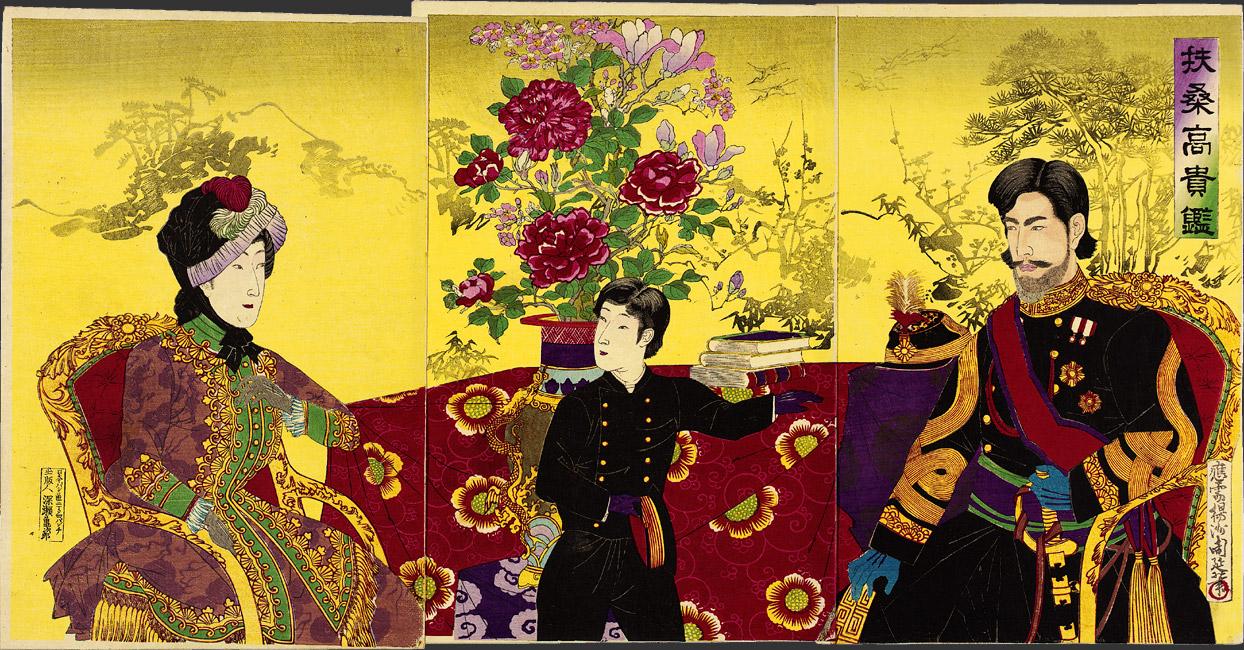 Os 125 poemas do imperador Meiji e a sua importância