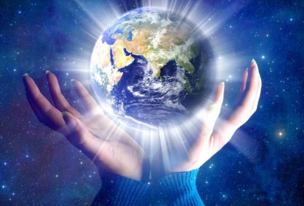 Enviar Reiki para o planeta terra