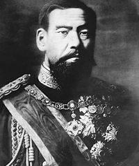 Celebrar o dia das virtudes do Imperador Meiji