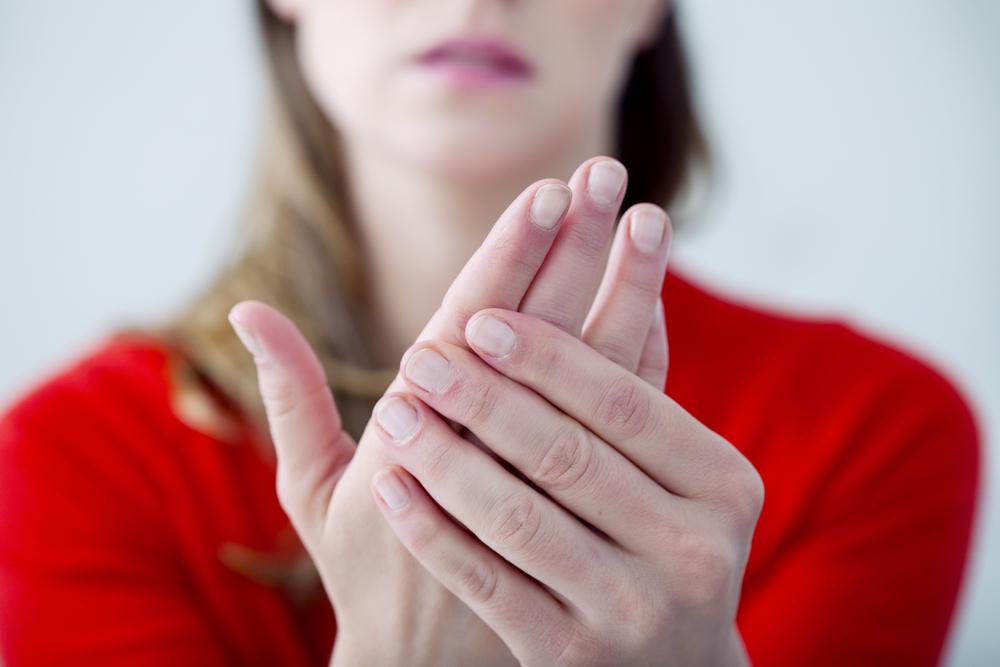 A sensação das mãos arrefecerem depois de estarem quentes
