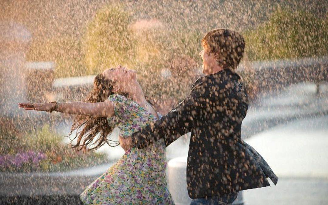 Reiki é como chuva – a purificação que vem de cima