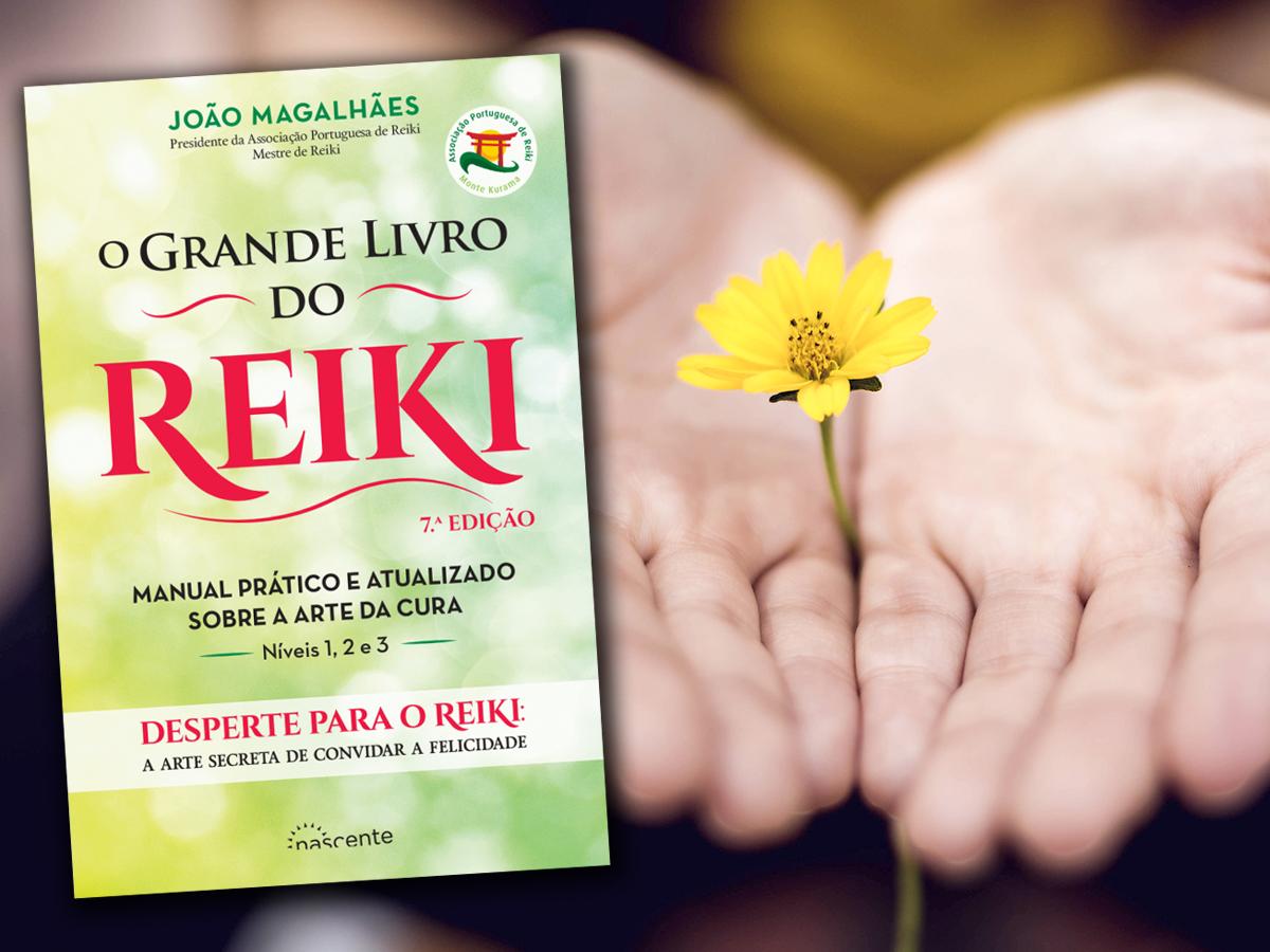 Três anos de O Grande Livro do Reiki e sete edições