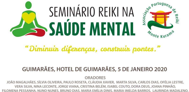 Seminário Reiki na Saúde Mental – 5 de Janeiro em Guimarães